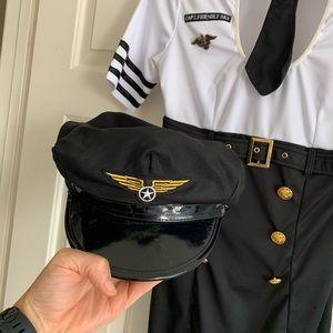 Halloween Pilot Dress with Hat